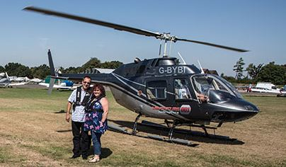 12 Mile Themed Helicopter Flight For TWO Flydays Experience 1