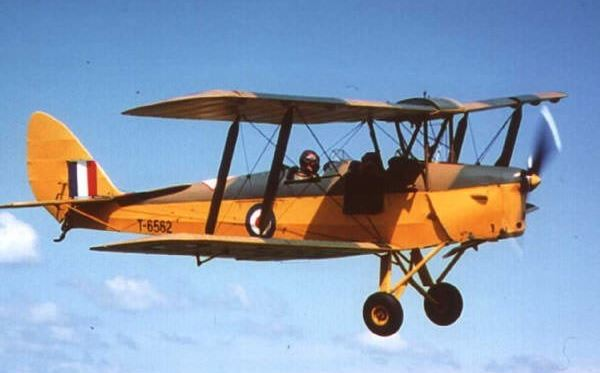 40 Minute Tiger Moth Flight Experience 1