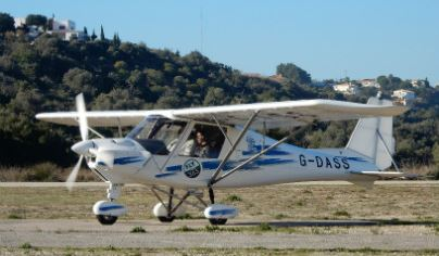 60 Minute Microlight Flying Lesson For ONE Flydays Experience 1