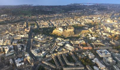 Extended City of Edinburgh Helicopter Tour For One 1