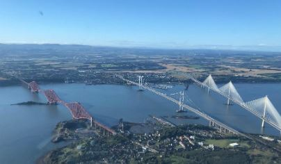 Extended City of Edinburgh Helicopter Tour For TWO Flydays Experience 2