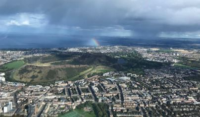 Extended City of Edinburgh Helicopter Tour For TWO Flydays Experience 3
