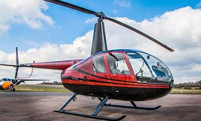 Helicopter Experience with Non-Alcoholic Bubbly and Chocolates for Two Flydays Experience 1