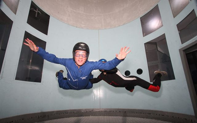 Indoor Skydive for Two at Twinwoods Flydays Experience 1