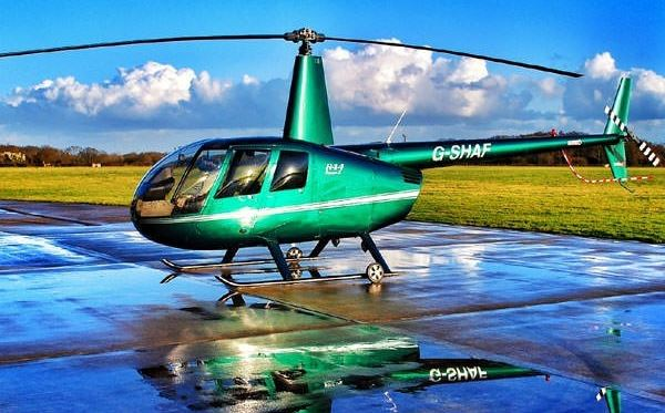 Spectacular Silverstone Helicopter Flying Lesson Flydays Experience 2