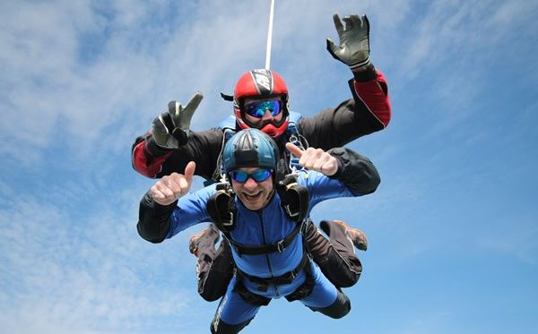 Tandem Skydive - UK Wide Flydays Experience 1