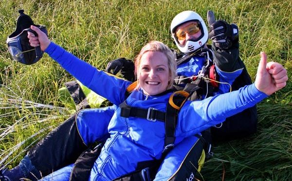 Tandem Skydive - UK Wide Flydays Experience 3