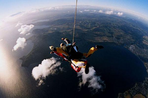 Tandem Skydive 1
