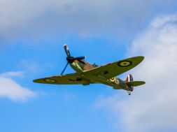 Fly past...dwindling number of historic airfields
